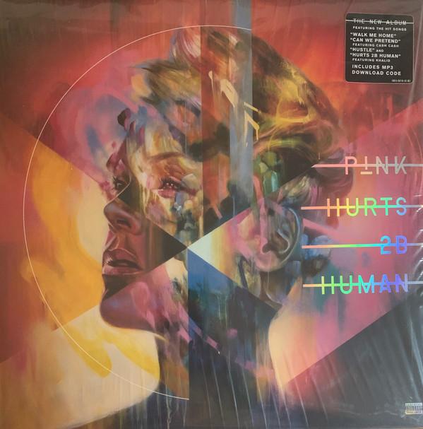 P!NK - Hurts 2B Human - vinyl record