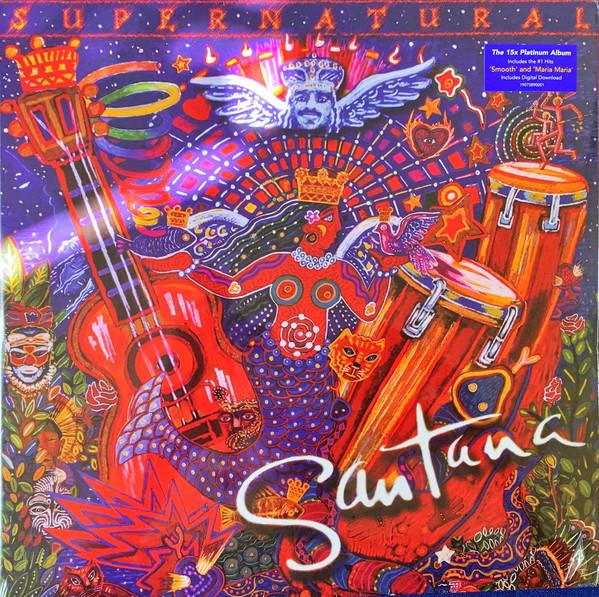 Santana - Supernatural - vinyl record