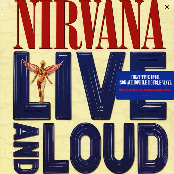Nirvana - Live And Loud - vinyl record