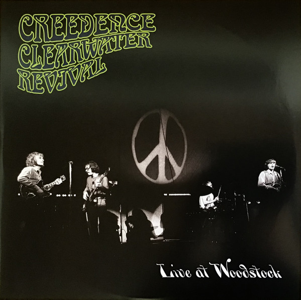 Creedence Clearwater Revival - Live At Woodstock - vinyl record