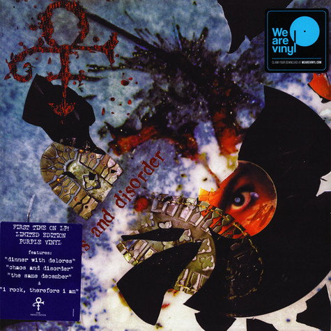 The Artist (Formerly Known As Prince) - Chaos And Disorder - vinyl record
