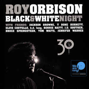Roy Orbison And Friends - A Black And White Night - Live - vinyl record