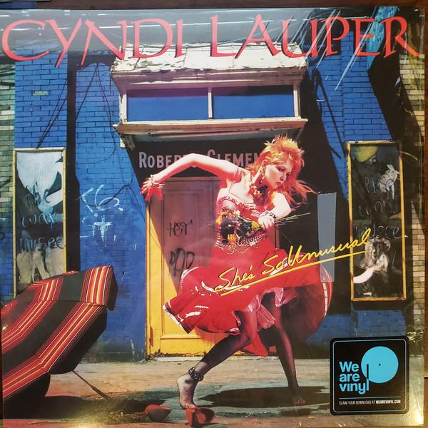 Cyndi Lauper - She's So Unusual - vinyl record