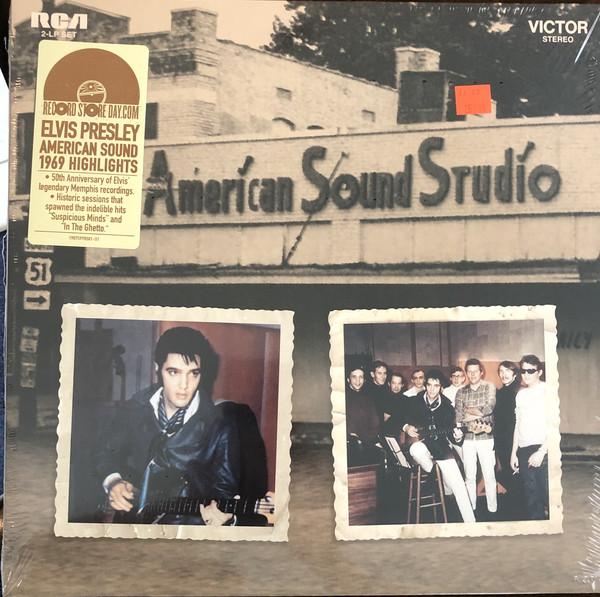 Elvis Presley - American Sound 1969 Highlights - vinyl record