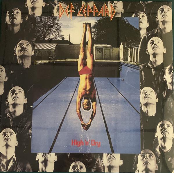 Def Leppard - High 'N' Dry - vinyl record