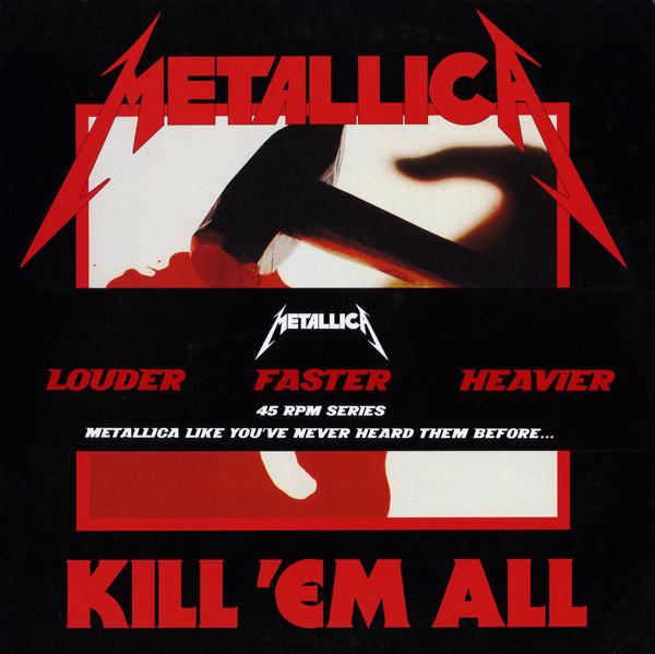 Metallica - Kill 'Em All - vinyl record