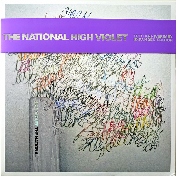 The National - High Violet - vinyl record