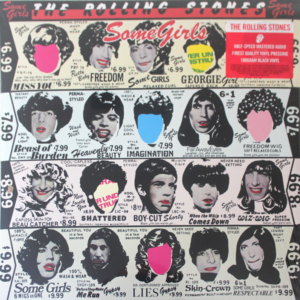 The Rolling Stones - Some Girls - vinyl record
