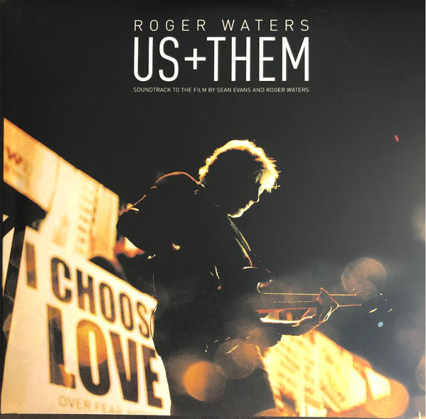 Roger Waters - Us + Them - vinyl record