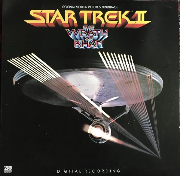 James Horner - Star Trek II: The Wrath Of Khan - vinyl record