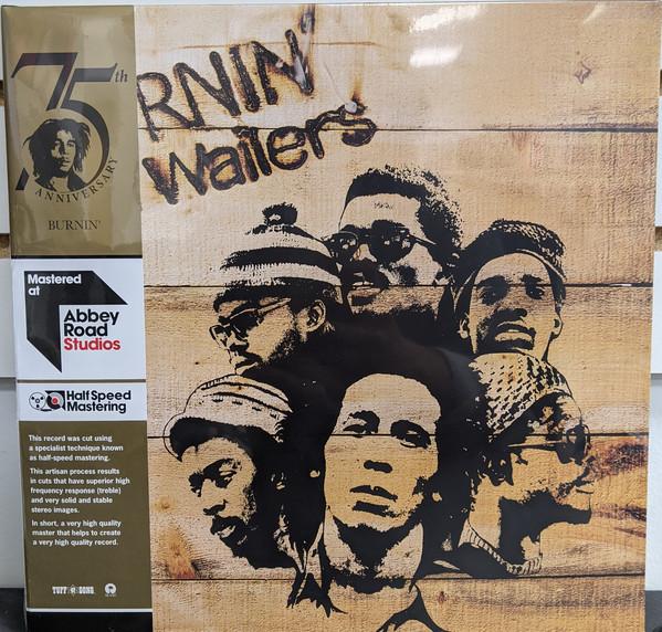 The Wailers - Burnin' - vinyl record