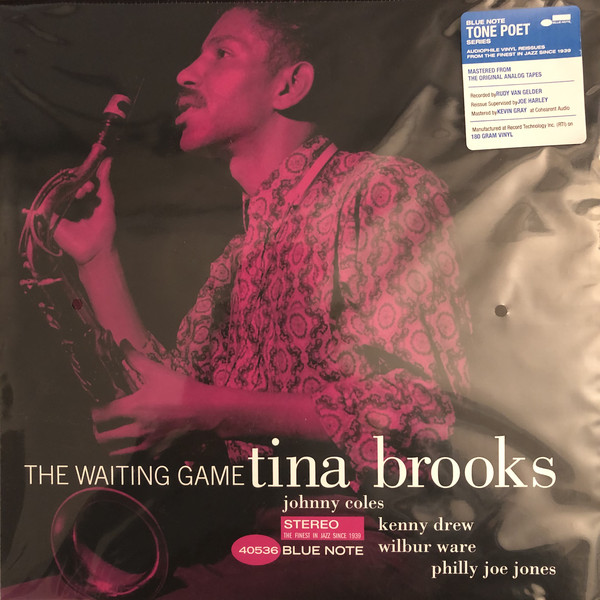 Tina Brooks - The Waiting Game - vinyl record