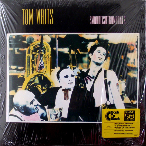 Tom Waits - Swordfishtrombones - vinyl record