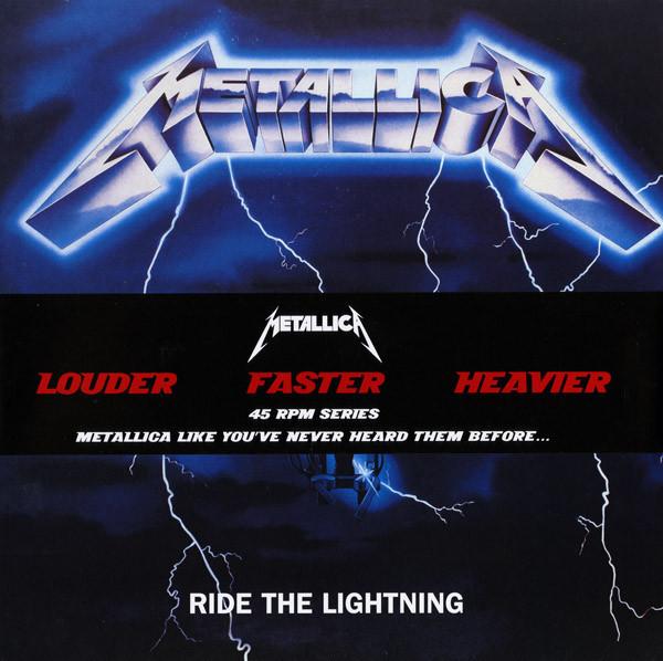 Metallica - Ride The Lightning - vinyl record