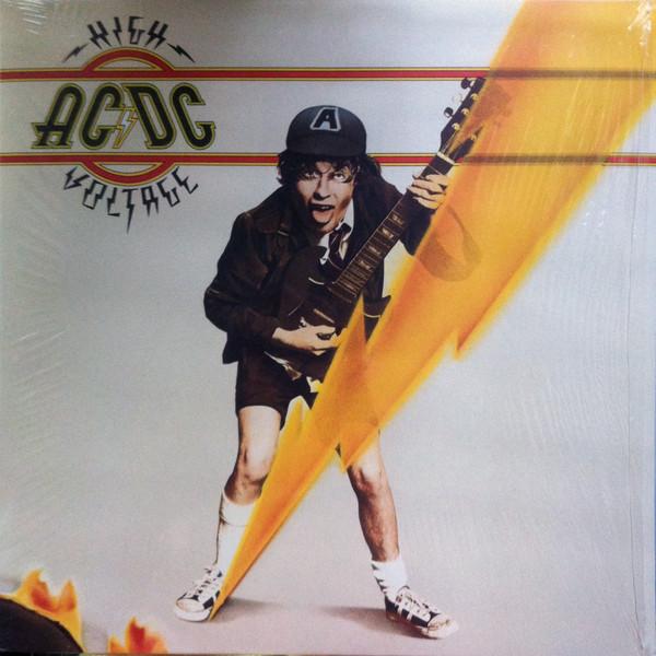 AC/DC - High Voltage - vinyl record