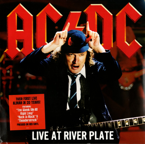 AC/DC - Live At River Plate - vinyl record