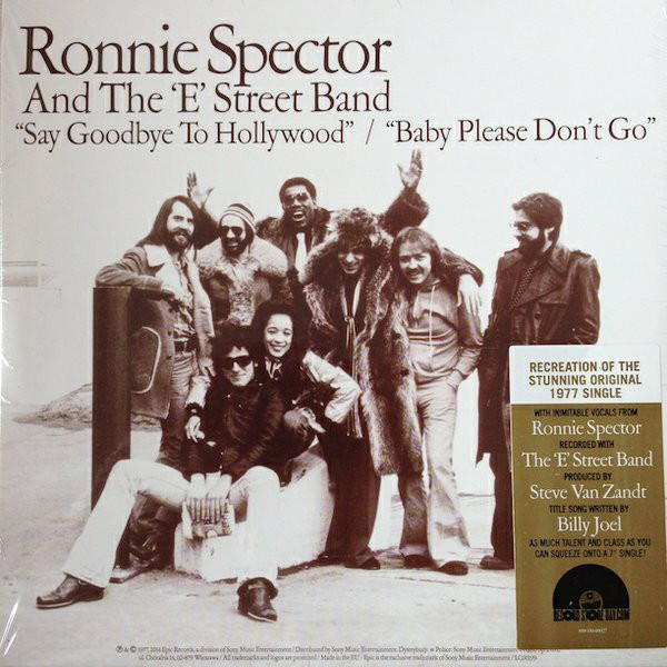 Ronnie Spector - Say Goodbye To Hollywood - vinyl record