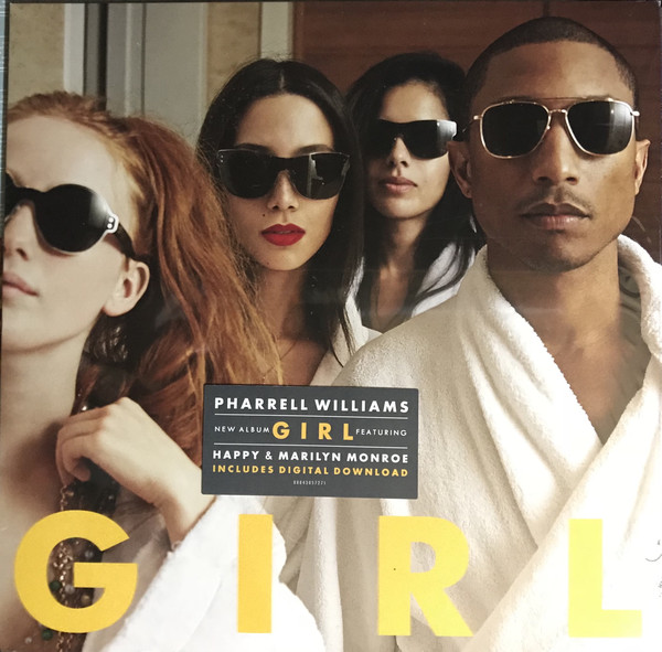 Pharrell Williams - G I R L - vinyl record