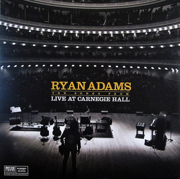 Ryan Adams - Ten Songs From Live At Carnegie Hall - vinyl record