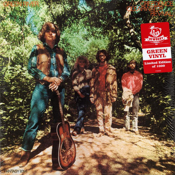 Creedence Clearwater Revival - Green River - vinyl record