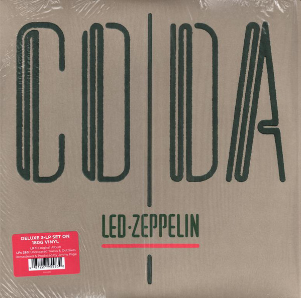 Led Zeppelin - Coda - vinyl record