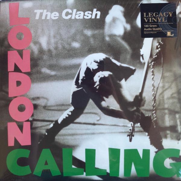 The Clash - London Calling - vinyl record