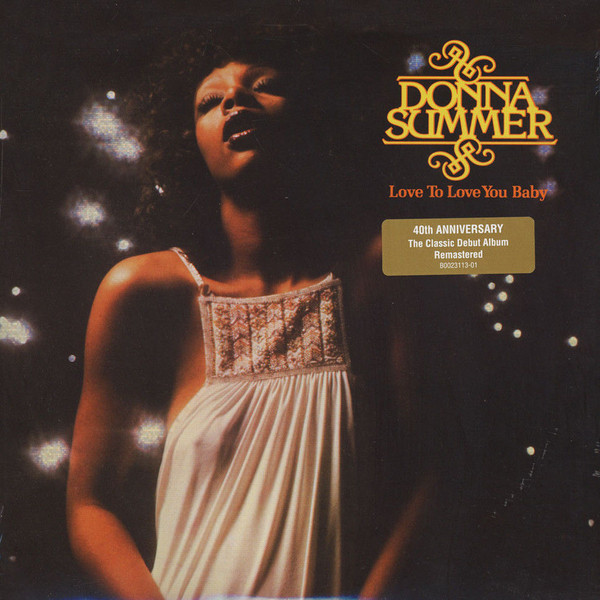 Donna Summer - Love To Love You Baby - vinyl record