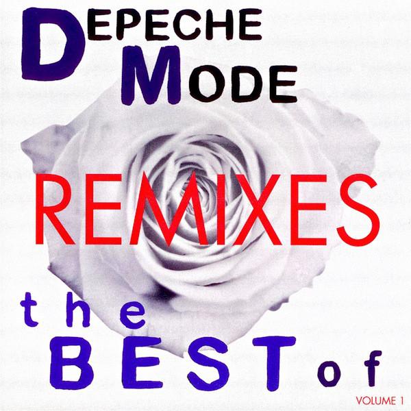 Depeche Mode - The Best Of Depeche Mode Volume 1 Remixes - vinyl record