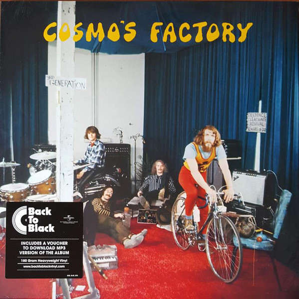 Creedence Clearwater Revival - Cosmo's Factory - vinyl record