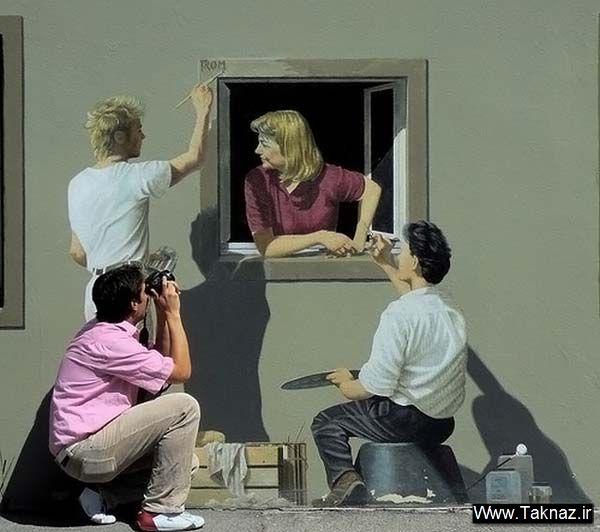 نقاشی های روی دیوار ساختمان ها -jazzaab.ir