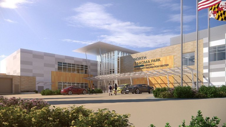 Takoma Park Announces Brand New Library and Rec Center…in Wheaton