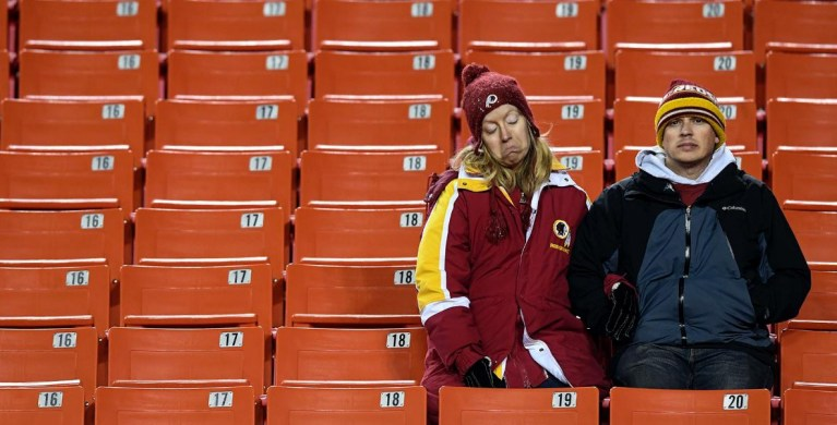 Takoma Park Couple Wins Ownership of Washington R*dskins at Local Silent Auction