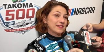 Mayor Kate Stewart NASCAR press conference