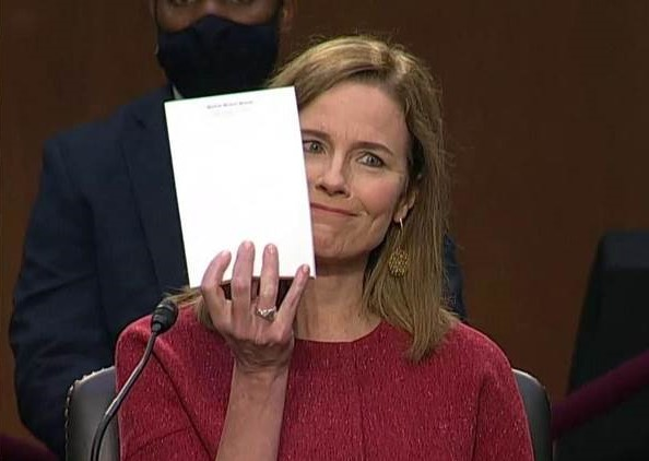 Amy Coney Barrett Looking Forward to Stripping Away Rights From Her Daughters