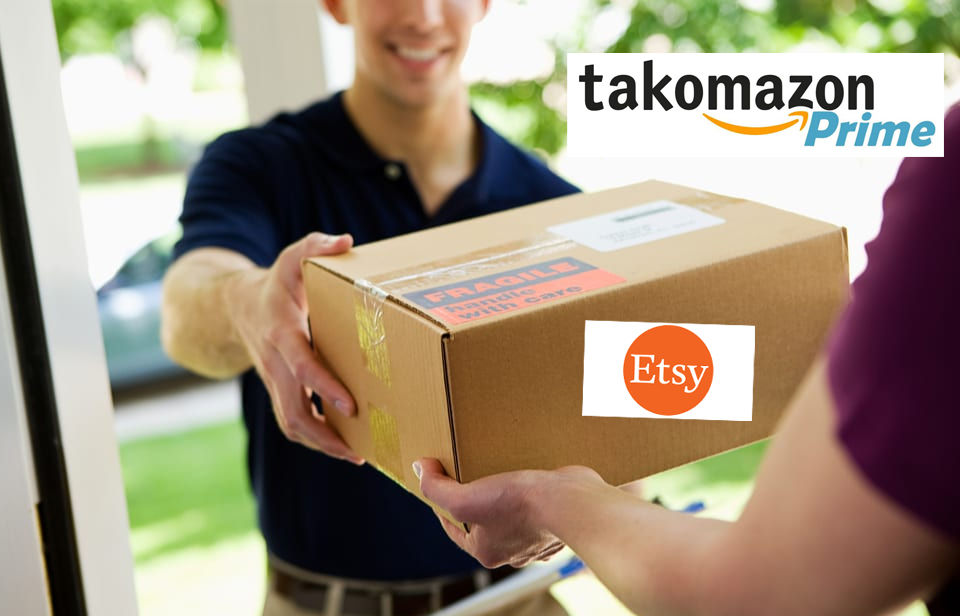 Amazon to Ship Takoma Park Orders in Etsy Boxes, Allowing Residents to Secretly Shop on Prime Day