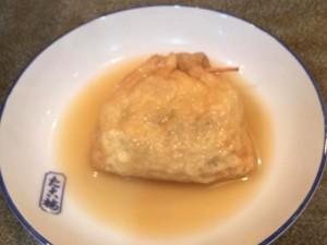 エッグベネディクト風?の新作関東煮(かんとだき/おでん)