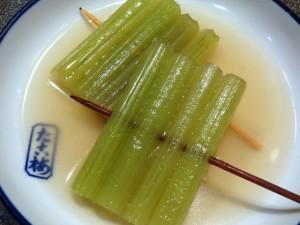 蕗(ふき)の関東煮(かんとだき/おでん)です