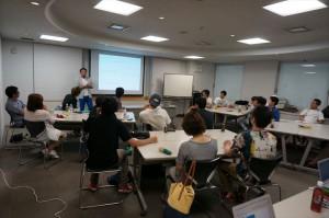 これまでの復習を兼ねた松野先生の講義から始まります!