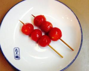 店主の知らない関東煮(かんとだき/おでん)「ミニトマト」