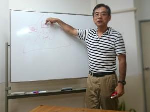 私のモヤモヤを図解中の小田さんです