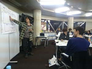 ワクワク系マーケティング実践講座で上原さんが取り組んだことを発表