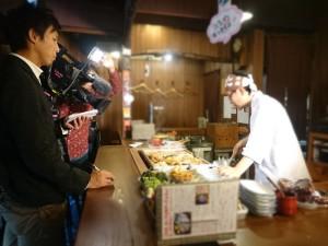 関東煮(かんとだき/おでん)の由来について取材を受けてます