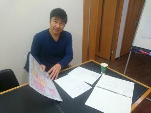 サイトのリニューアルをお願いしているMr.DESIGNの勝田さん