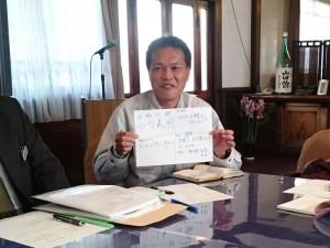 白鹿さんの研究開発室長で丹波杜氏の小川義明さん