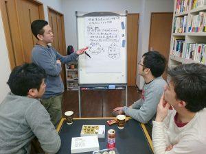2月の現場会議で、「企画集計表、大福帳に入力して活用できるようになるには?」について検討です
