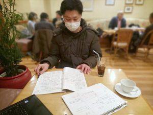 たこ梅 分店の金田さんとは休みの日の出来事から行動探求