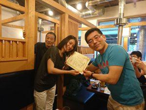 松野先生のアシスタント阪田さんにも五年目の感謝です!