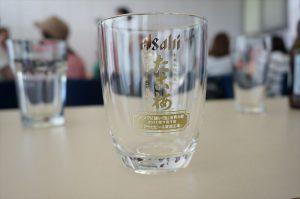 部活のビール工場見学記念のジョッキ