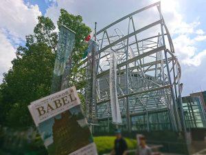 バベルの塔展をやってる大阪中之島の国立国際美術館