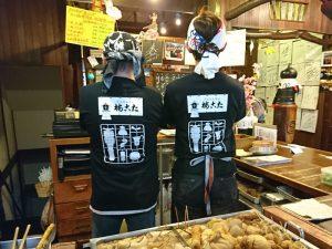 AirREXさんが作ってくれたのコラボTシャツ(背面)